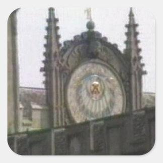 jGibney de Oxford 1986 Disk1 Part1 snapshot_6146 Pegatina Cuadrada