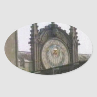 jGibney de Oxford 1986 Disk1 Part1 snapshot_6146 Pegatina Ovalada