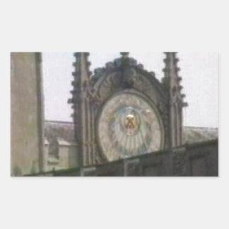 jGibney de Oxford 1986 Disk1 Part1 snapshot_6146 Pegatina Rectangular