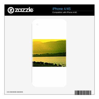 jGibney del arte 37319a1 de las montañas de iPhone 4 Skin