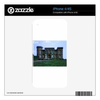 jGibney del arte snap-37689a del castillo de Calcomanía Para iPhone 4S