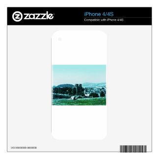 jGibney del arte snap-38784 del castillo de iPhone 4S Skins