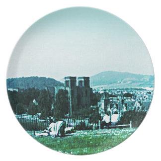 jGibney del arte snap-38784 del castillo de Plato De Comida