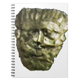 jGibney romano T de Inglaterra 1986 Mask1 Spiral Notebook