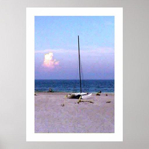 jGibney Sailboat Colossal Giclée Prints  Posters