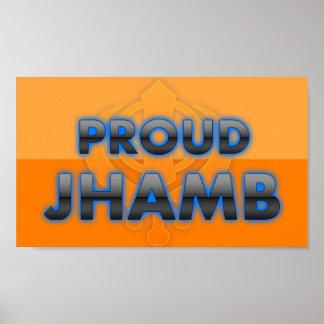 Jhamb orgulloso orgullo de Jhamb Impresiones