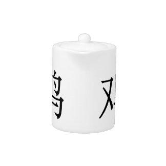 jī - 鸡 (chicken) teapot