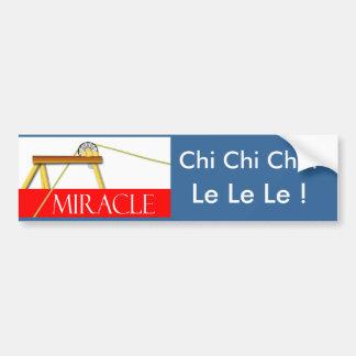 Ji Chi Chi Le Le Le Etiqueta De Parachoque