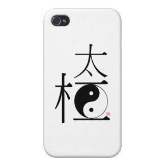 Ji china Ying Yang del Tai iPhone 4 Coberturas