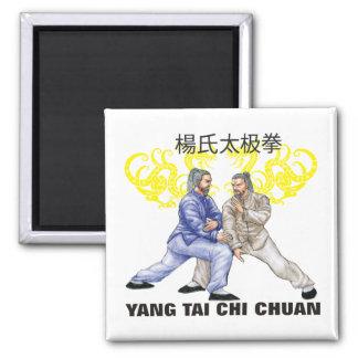 Ji Chuan de Yang Tai Imán Cuadrado