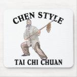 Ji Chuan del Tai del estilo de Chen Tapetes De Raton