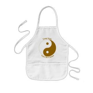 Ji Chuan del Tai del estilo de Yang Delantal