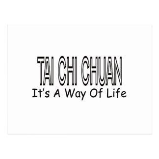 Ji Chuan del Tai es una manera de vida Postales