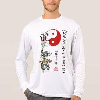 Ji del Tai del mundo y día 2012 de Qigong Remera