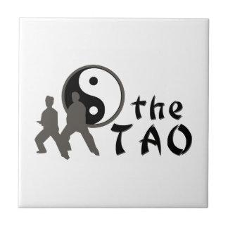 Ji del Tai el Tao Azulejo Cuadrado Pequeño