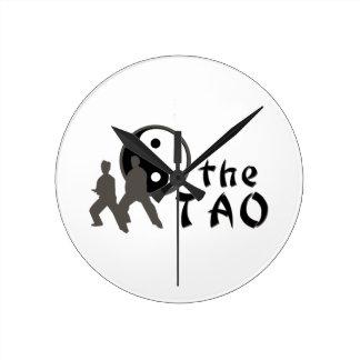 Ji del Tai el Tao Reloj Redondo Mediano