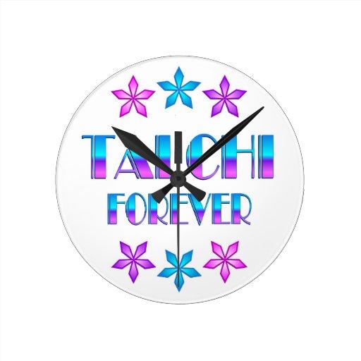 Ji del Tai para siempre Relojes De Pared