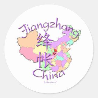 Jiangzhang China Round Stickers