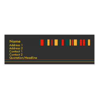 Jiao Profile Card Double-Sided Mini Business Cards (Pack Of 20)