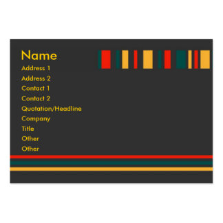 Jiao Profile Card Large Business Cards (Pack Of 100)
