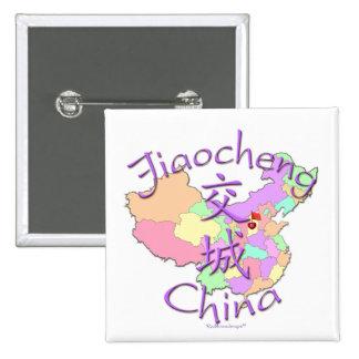 Jiaocheng China Pinback Buttons