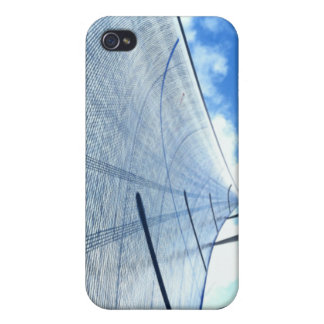 Jib Sail and Mast Picture iPhone 4 Case
