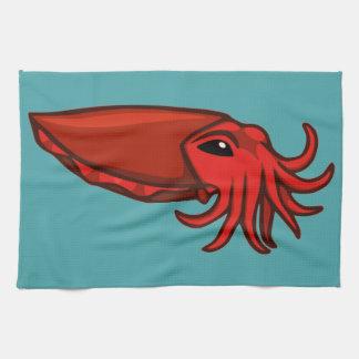 Jibias rojas de la natación toallas