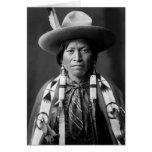 Jicarilla Apache Cowboy Greeting Card