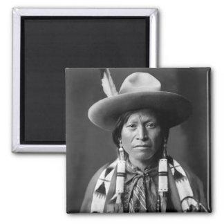 Jicarilla Apache Cowboy Magnet