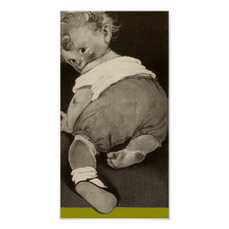 Jiffy Baby Crawling Poster