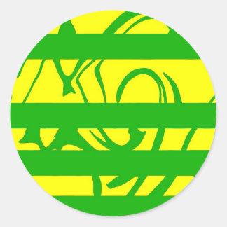 jig-hemma classic round sticker