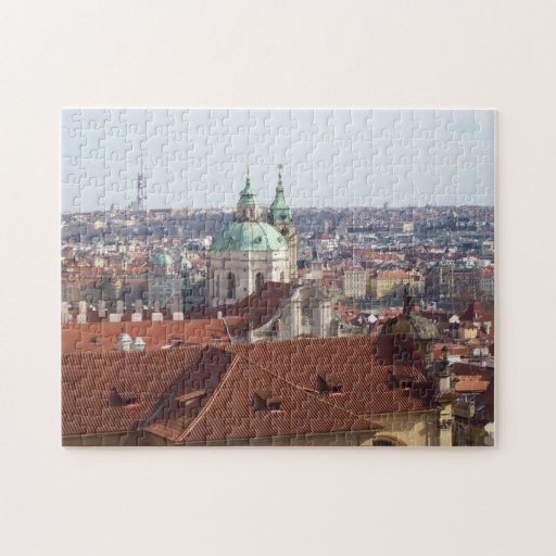 Jig Saw Puzzle- view from Prague Castle