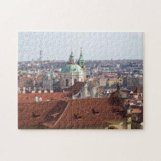 Jig Saw Puzzle- view from Prague Castle Puzzles