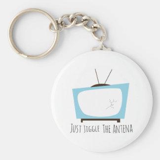 Jiggle Antena Key Chain
