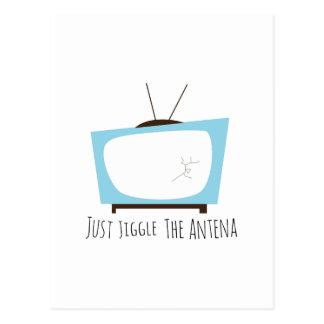 Jiggle Antena Tarjeta Postal
