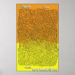 Jiggle Maze Poster