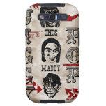 Jiggy Pop Vintage Character Design Galaxy SIII Cases