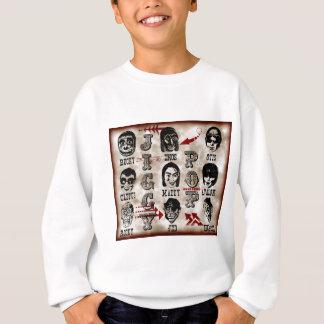 Jiggy Pop Vintage Character Design Sweatshirt