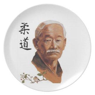 jigoro kano Judo Party Plates