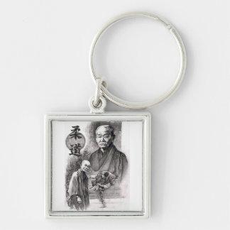 Jigoro Kano keychain
