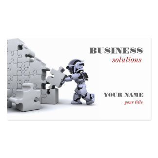 Jigsaw Building Business Card