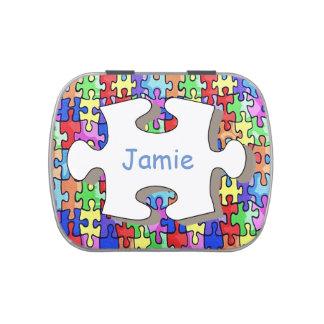 Jigsaw Candy Tins
