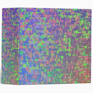 Jigsaw Chaos Abstract Binder