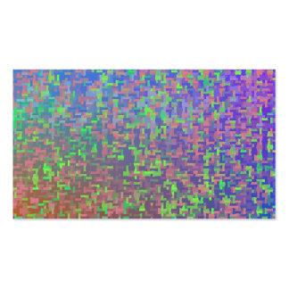 Jigsaw Chaos Abstract Business Card