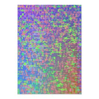 Jigsaw Chaos Abstract Card