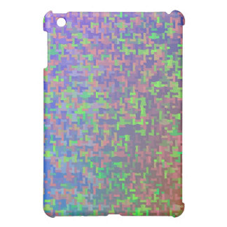 Jigsaw Chaos Abstract iPad Mini Cover