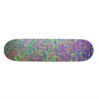 Jigsaw Chaos Abstract Skateboard Deck