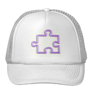 Jigsaw Cutout Baseball Hat