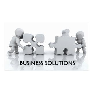 Jigsaw design business card