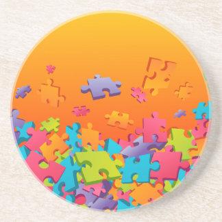 Jigsaw Drink Coaster